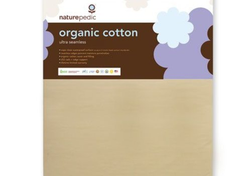 Naturepedic Naturepedic Crib Mattress Organic Cotton Ultra 252 Seamless