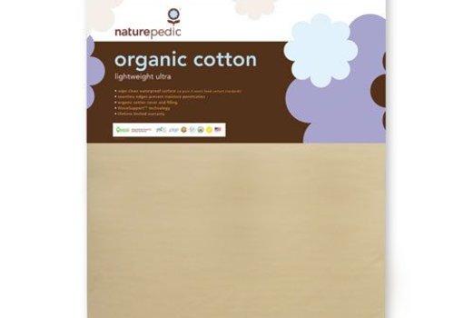 Naturepedic Naturepedic Crib Mattress Organic Cotton Lightweight Ultra 2-Stage
