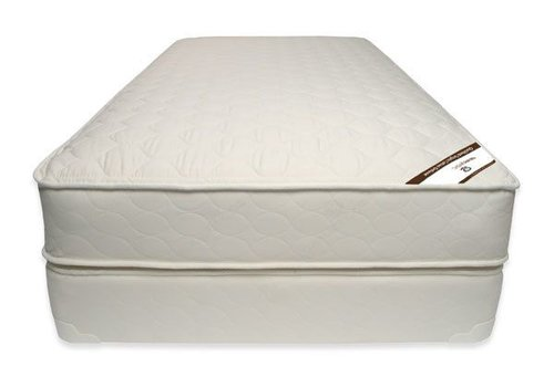 Naturepedic Naturepedic Full Size Mattress Quilted Organic Cotton Deluxe With Box Spring