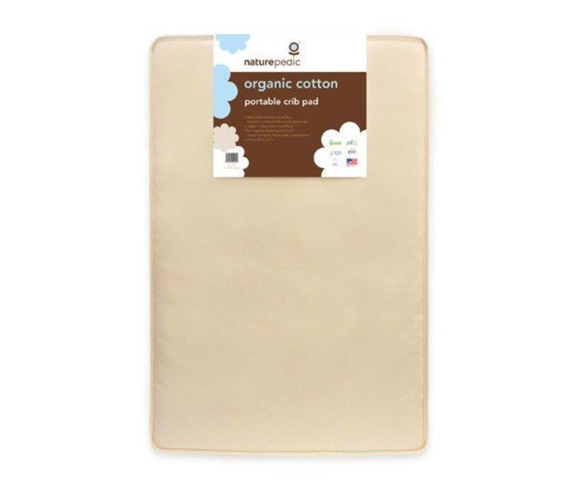 Naturepedic Organic Cotton Portacrib Mattress