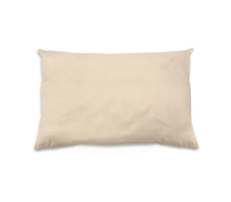 Naturepedic Organic Kapok/Cotton Standard Size Pillow (20x26) - Low Fill