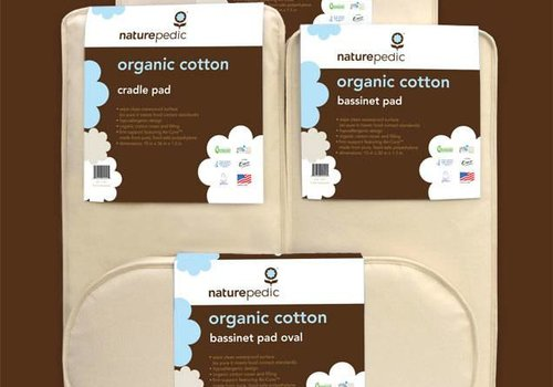 Naturepedic Naturepedic Organic Cotton Bassinet Mattress Oval