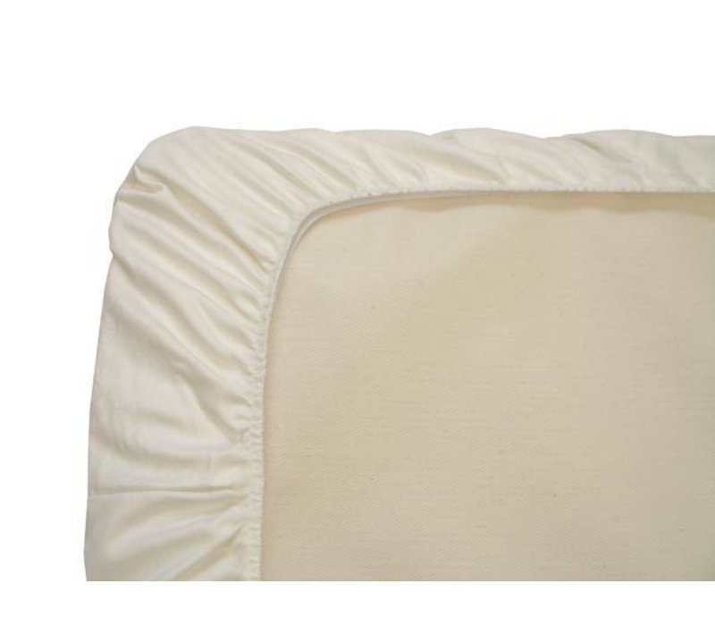 Naturepedic Organic Cotton Ivory Bassinet Sheet (1 Pack)