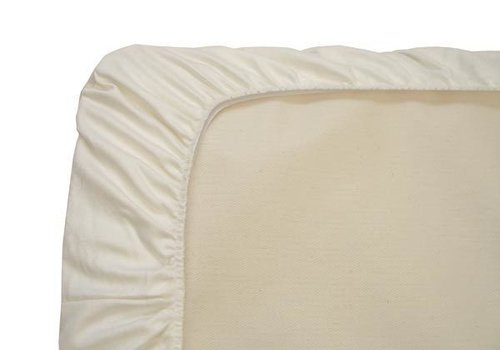Naturepedic Naturepedic Organic Cotton Ivory Mini Crib - Portable Crib Sheet (1 Pack)