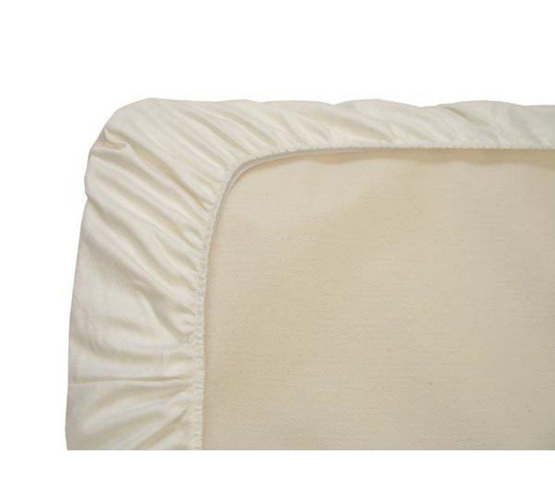 Naturepedic Organic Cotton Ivory Mini Crib - Portable Crib Sheet (1 Pack)