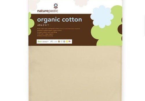 Naturepedic Naturepedic Crib Mattress 2 in 1 Organic Cotton Ultra 252 Coils