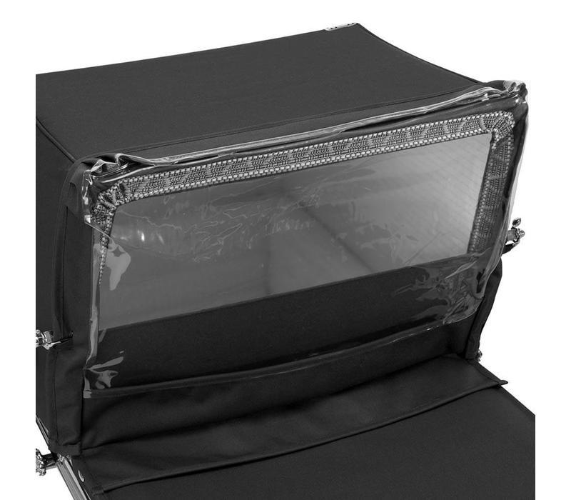 Silver Cross Balmoral Rain Shield - Black