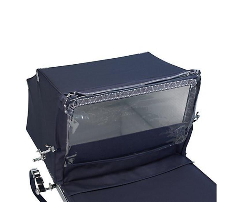 Silver Cross Balmoral Rain Canopy In Blue