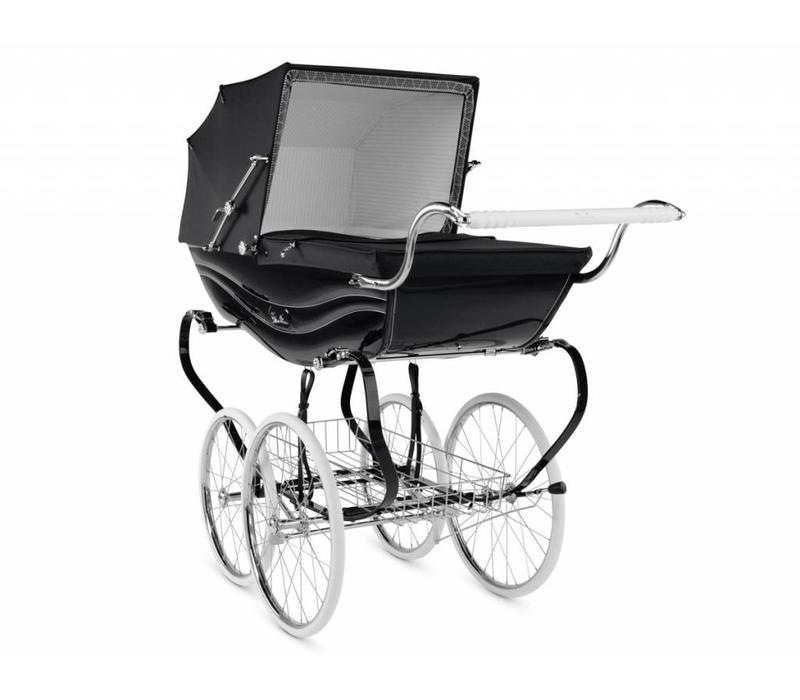 Silver Cross Balmoral Carriage In Black