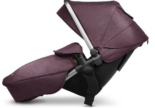 Silver Cross Silver Cross Wave Stroller Tandem Second Seat- Claret