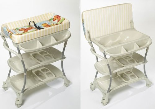 Primo Baby Primo Baby Euro Spa Baby Bath and Changing Table In White