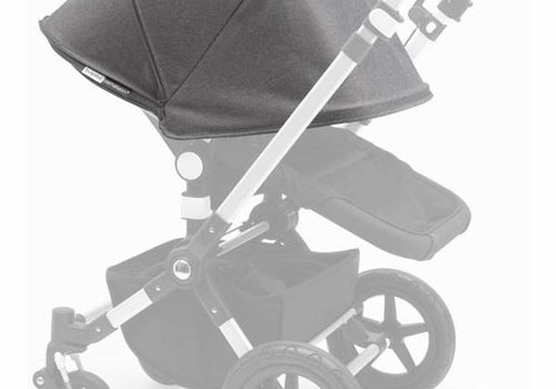 Bugaboo 2017 Bugaboo Cameleon3 Tailored Set Extendable Sun Canopy In Grey Melange
