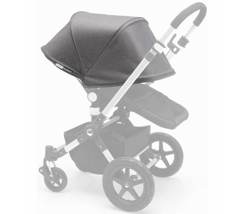 Bugaboo Cameleon3 Tailored Set Extendable Sun Canopy In Grey Melange