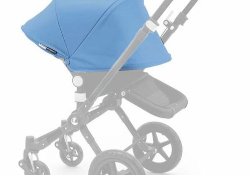 Bugaboo 2017 Bugaboo Cameleon3 Tailored Set With Extendable Sun Canopy In Ice Blue