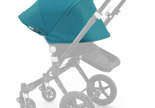 Bugaboo Bugaboo Cameleon3 Tailored Set Extendable Sun Canopy In Petrol Blue