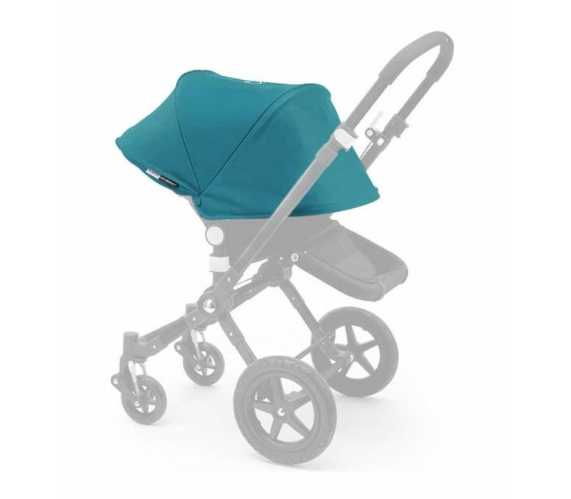 Bugaboo Cameleon3 Tailored Set Extendable Sun Canopy In Petrol Blue