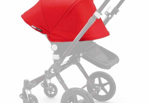 Bugaboo Bugaboo Cameleon3 Tailored Set Extendable Sun Canopy In Red