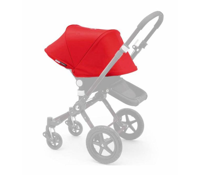 Bugaboo Cameleon3 Tailored Set Extendable Sun Canopy In Red