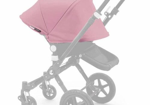 Bugaboo Bugaboo Cameleon3 Tailored Set Extendable Sun Canopy In Soft Pink