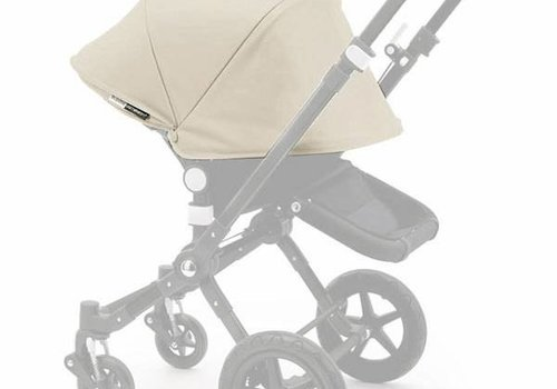 Bugaboo Bugaboo Cameleon3 Tailored Set Extendable Sun Canopy In Off White