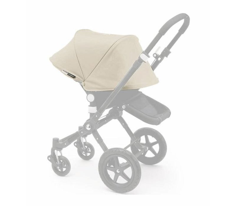 Bugaboo Cameleon3 Tailored Set Extendable Sun Canopy In Off White