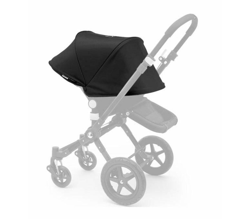 Bugaboo Cameleon3 Tailored Set Extendable Sun Canopy In Black