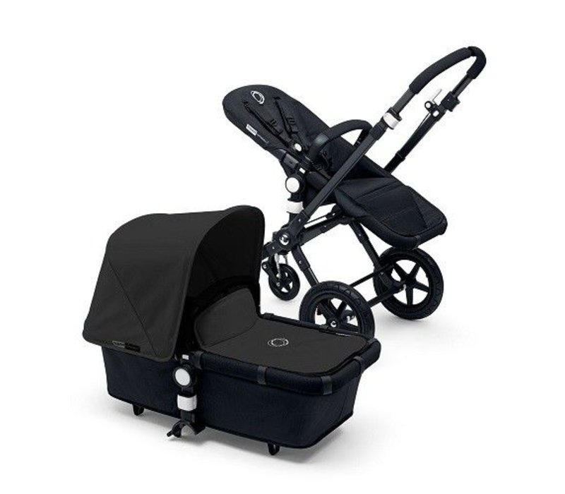 2017 Bugaboo Cameleon3 Base Black - Black Extendable Tailored Fabric In Black