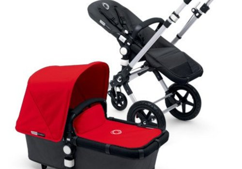 Bugaboo 2017 Bugaboo Cameleon3 Base Dark Grey Extendable Tailored Fabric In Red