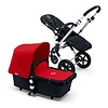 Bugaboo 2017 Bugaboo Cameleon3 Base Aluminum- Black Extendable Tailored Fabric In Red