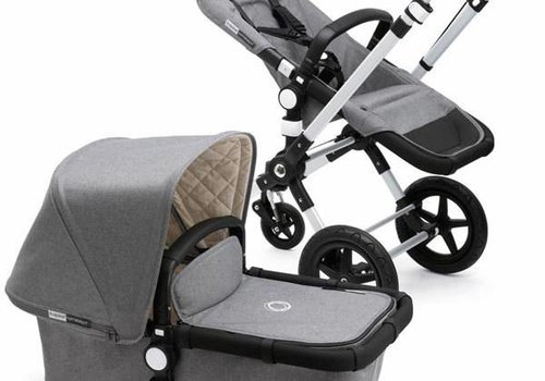 Bugaboo Bugaboo Cameleon3 Classic  (Quilted) Collection In Grey Melange