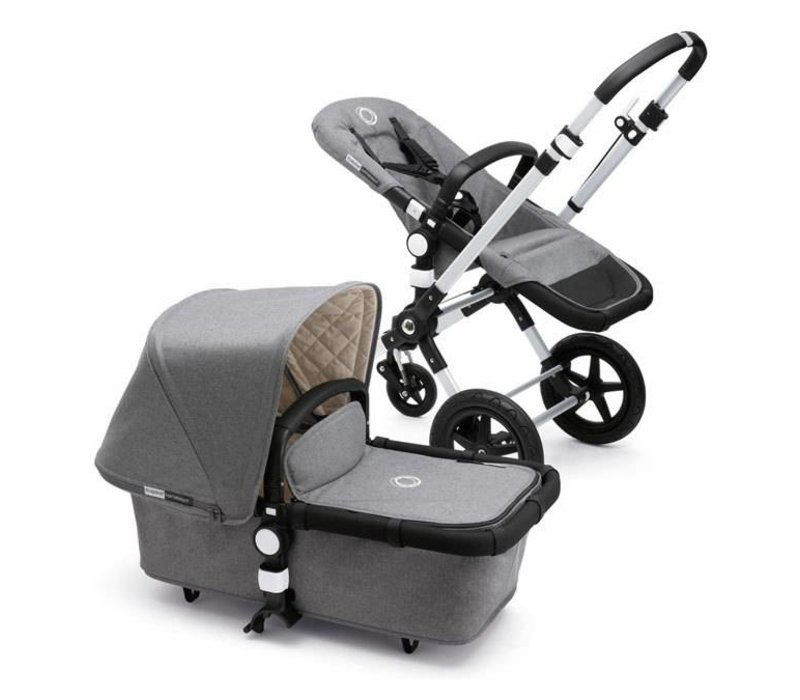 Bugaboo Cameleon3 Classic  (Quilted) Collection In Grey Melange