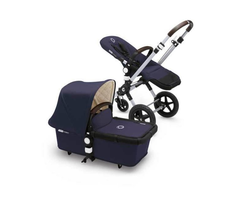 Bugaboo Cameleon3 Classic  (Quilted) Collection In Navy Blue