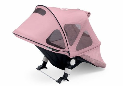 Bugaboo Bugaboo Cameleon3 Breezy Sun Canopy In Soft PInk