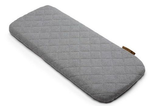 Bugaboo Bugaboo Wool Mattress Cover In Grey Melange