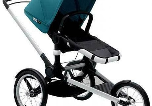 Bugaboo Bugaboo Runner Complete In Petrol Blue