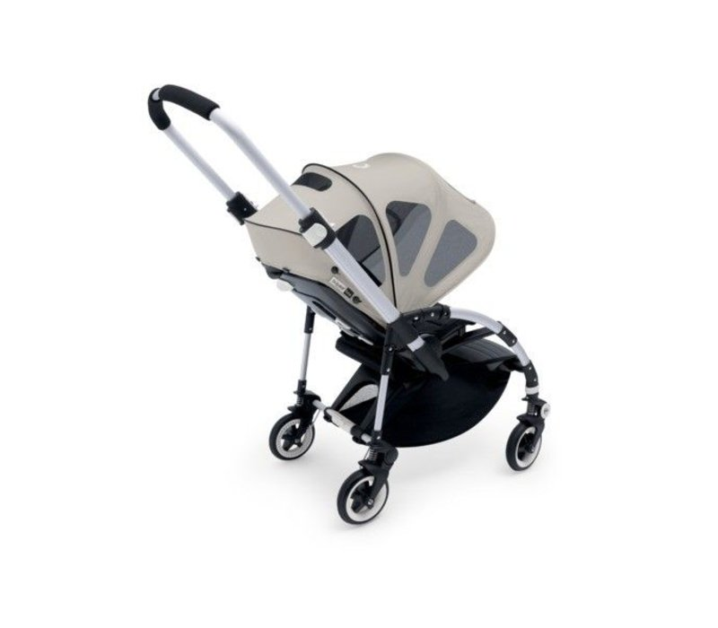 Bugaboo Bee Breezy Sun Canopy In Arctic Grey