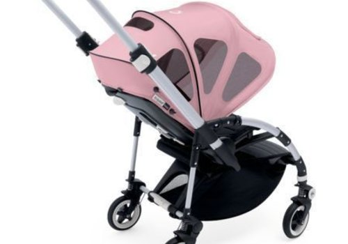 Bugaboo Bugaboo Bee Breezy Sun Canopy In Soft Pink