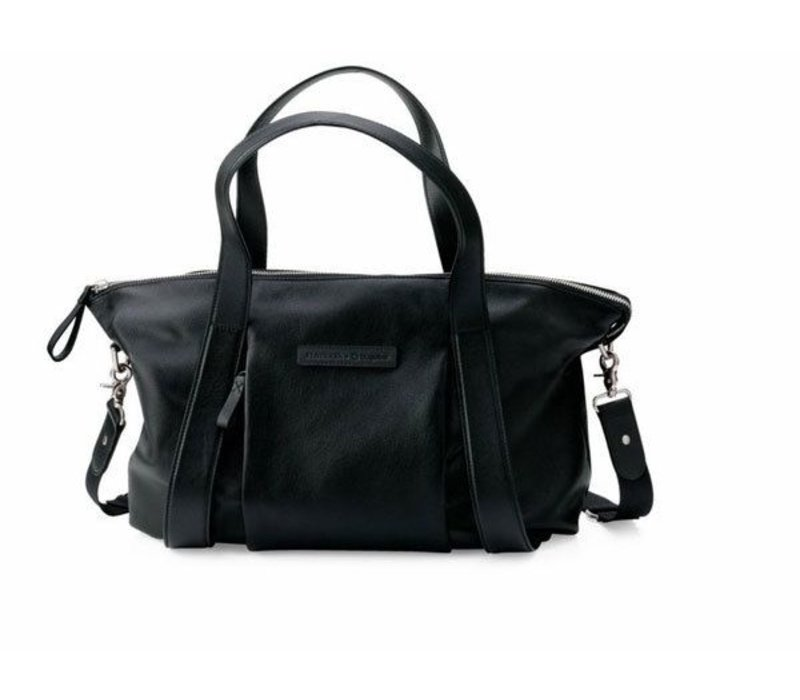 Bugaboo + Storksak Leather Changing Bag