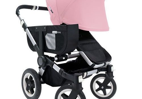 Bugaboo SALE!! Bugaboo Donkey Extended Sun Canopy In Soft Pink
