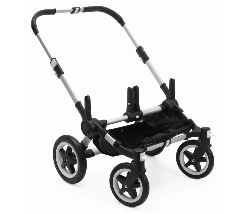 Bugaboo Donkey2 Stroller Base In Aluminum  (BOX 1)