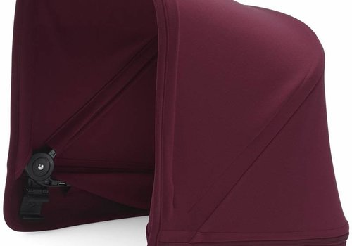 Bugaboo Bugaboo Donkey2 Extendable Sun Canopy In Ruby Red