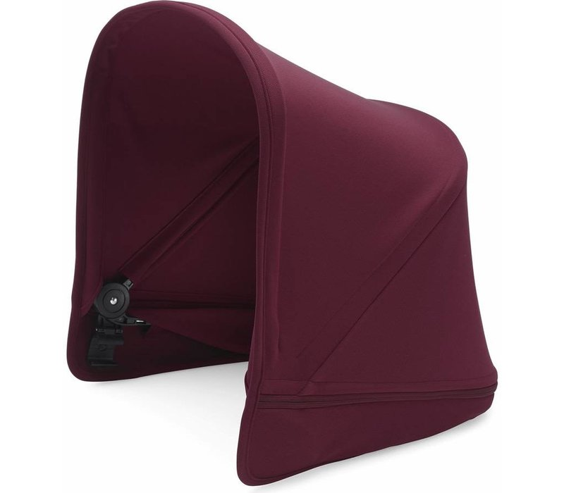 Bugaboo Donkey2 Extendable Sun Canopy In Ruby Red