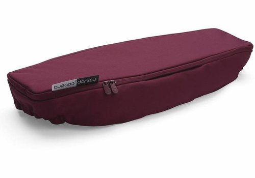 Bugaboo Bugaboo Donkey2 Side Luggage Basket Cover In Ruby Red