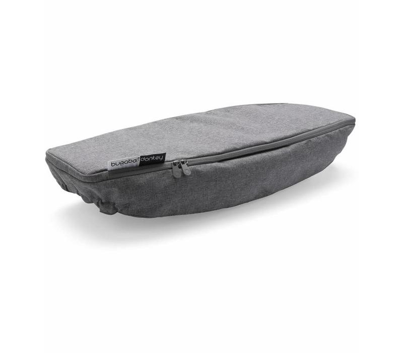 Bugaboo Donkey2 Side Luggage Basket Cover In Grey Melange