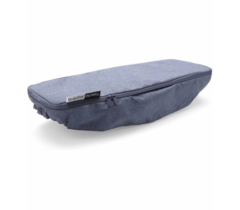 Bugaboo Donkey2 Side Luggage Basket Cover In Blue Melange