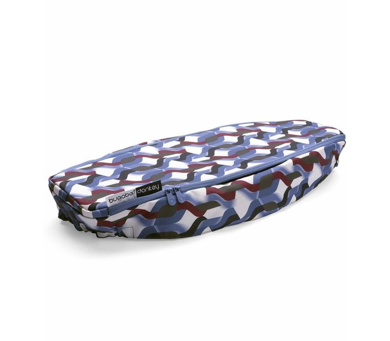 Bugaboo Donkey2 Side Luggage Basket Cover In Waves