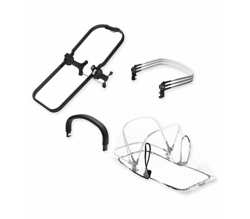 Bugaboo Donkey2 Duo Extension Set Base In Black