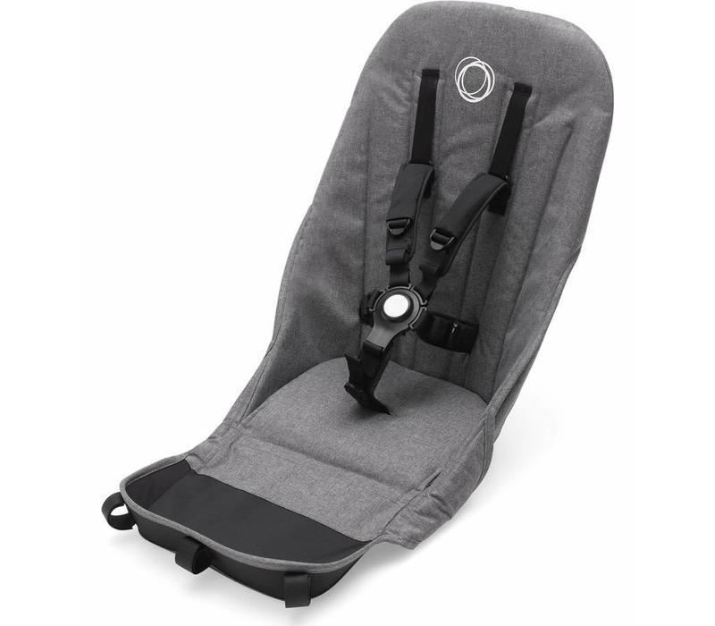 Bugaboo Donkey2 Seat Fabric Grey Melange