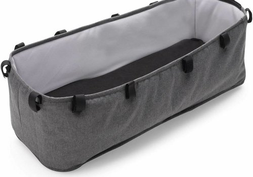 Bugaboo Bugaboo Donkey2 Bassinet Fabric Complete In Grey Melange  (BOX 7)