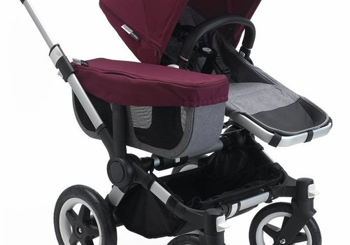 Bugaboo Bugaboo Donkey² Mono Complete Grey/Red